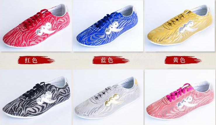 unisex Kids Adult auspicious clouds leather Kung fu tai chi shoes martial arts sneaker performance wushu