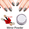 1Box Gold Sliver Nail Glitter Powder Shinning Nail Mirror Powder for Nail Gel Polish Makeup Art DIY Chrome Pigment