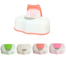 Dry Wet Tissue Paper Case Baby Wipes Napkin Storage Box Plastic Holder Container(China)