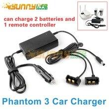 Phantom 3 Chargeur De Voiture Batterie et Télécommande Chargeur Intelligent En Plein Air De Charge pour DJI Phantom3