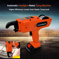 E 12V Automatic Cordless Electric Rebar Tying Machine Tool Set For Building Project Rebar Tier