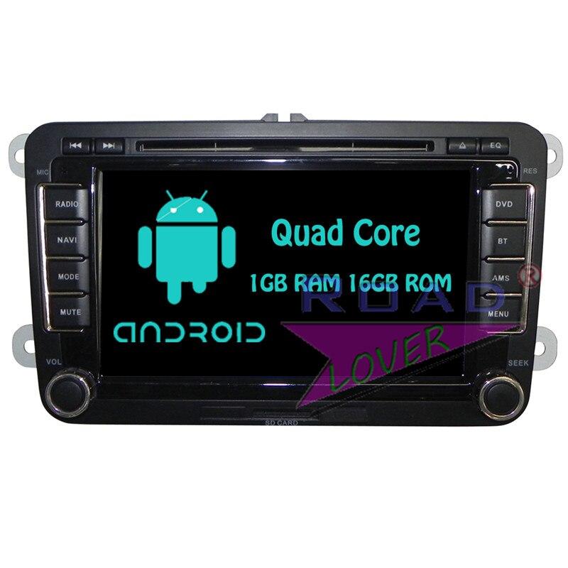 Roadloevr Android 6.0 Car Radio DVD Player For VW Passat B6 Polo Golf 5 Touareg For Volkswagen CC Sagitar Stereo GPS Navigation