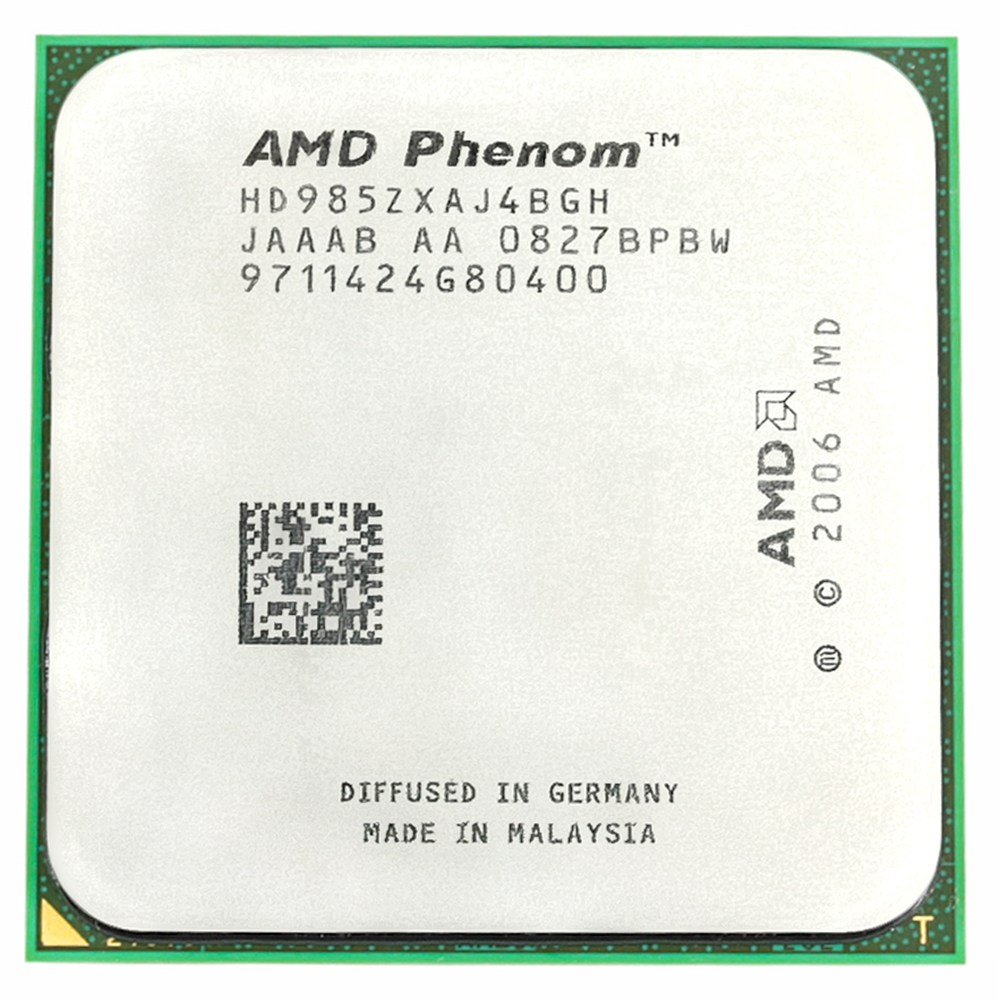 AMD Phenom X4 9850 CPU <font><b>Processor</b></font> Quad-CORE 2.5Ghz/ 2M /125W / 2000GHz Socket am2+ image