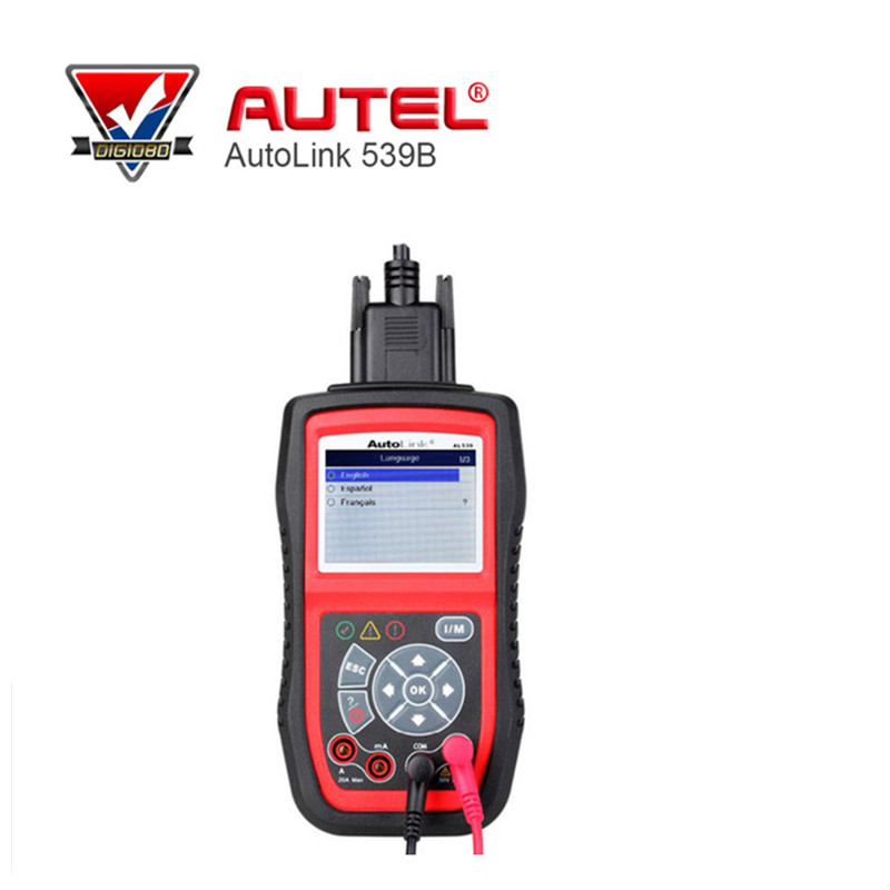Autel AutoLink AL539B OBDII Code Reader Diagnostic Tool Electrical Test OBD2 Scan Tool Auto Scanner Automotive Scanner lexia 3 diagnostic tool lexia3 pp2000 obd2 tool escaner automotriz auto diagnostic scanner for car lexia 3 diagbox 7 83 7 65