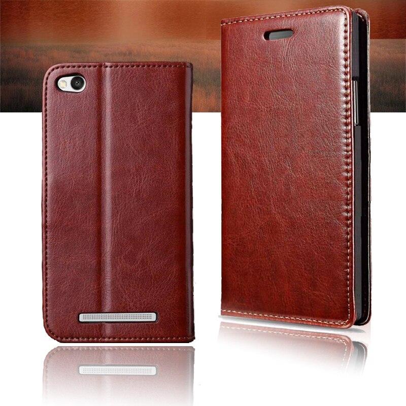 new style 654da e2ed4 Protective Case For Xiaomi Redmi 4A Flip Cover Redmi 4A Case Xiomi xaomi 4a  Retro Leather PU Funda Capa Coque Stand Back Covers-in Flip Cases from ...