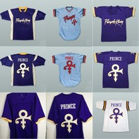 VIVA VILLA Prince Purple Rain Minnesota Retro Football Jersey Stitched Men American Football Jersey S 4XL