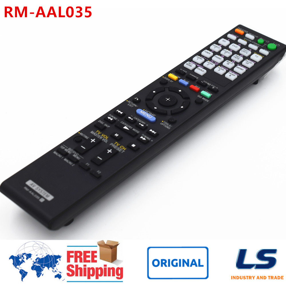 ORIGINAL REMOTE CONTROL RM-AAL035 RMAAL035 FIT FOR SONY STR-DA3600ES AV Receiver