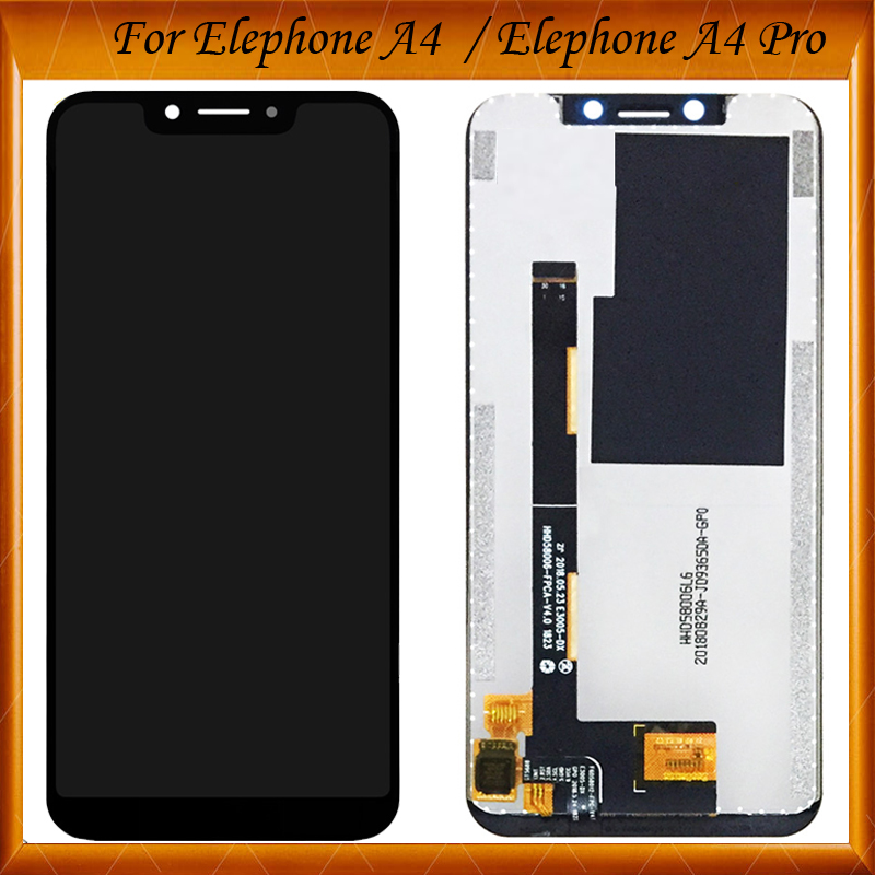 For Elephone A4 Pro LCD Display and Touch Screen 5.85 Inch Mobile Phone Accessories For Elephone A4 LCD