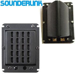 Image 1 - Sounerlink 1 PC Diy monitor audio flat speaker planar transducer ribbon tweeter with back cup AMT 300 02 &NEO 3PDRW