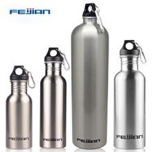 FEIJIAN Sports Water Bottle 18/8 Stainless Steel Flask Wide Mouth Jar Leak-proof Canteen 500mL 750mL 1000mL 1800mL 1.8L