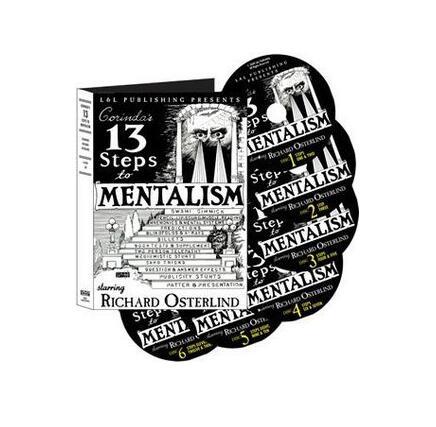Richard Osterlind - 13 Steps To Mentalism(1-6) Magic Tricks