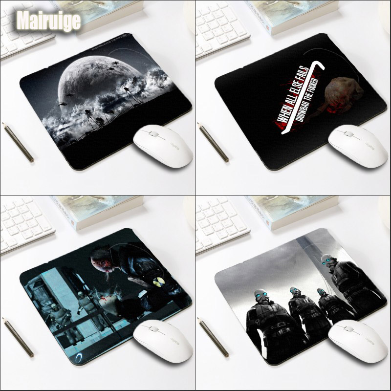 Mairuige The Pc Game Mousepad Half-life Fps Game Gaming Mousepad Small Size 220x180x2MM for A Gift and Rubber Non-slip Table Mat