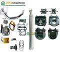 GY6 125 150 actualización para GY6 200CC big bore 61mm Scooter grande bore Kit Head Cam Bobina DC CDI y Carburador GY6 152QMI/157QMJ