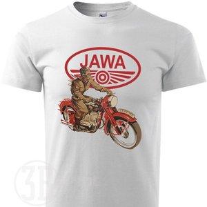 Image 2 - 2019 mais novo algodão marca de manga curta 3d impresso camiseta dos homens das motocicletas retro