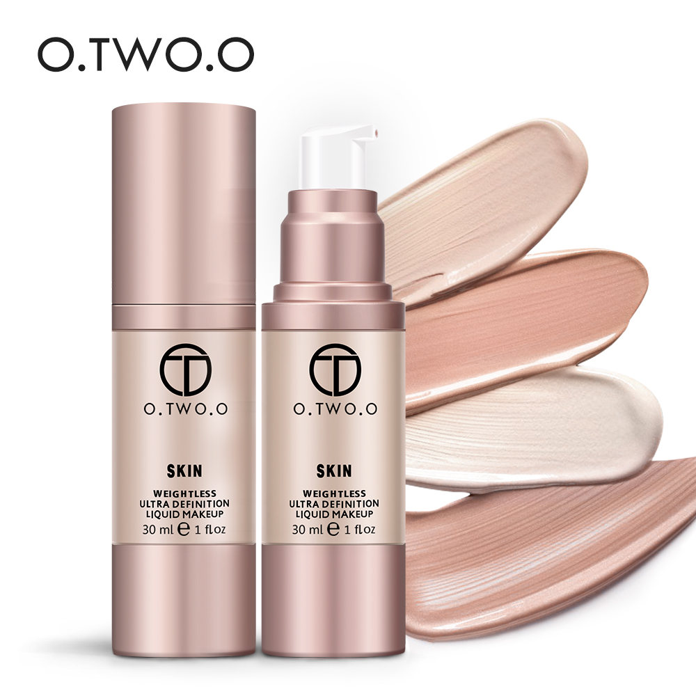 O.TWO.O Face Makeup Base Face Liquid Foundation BB Cream Concealer Foundation Primer Easy to Wear 30ml цена