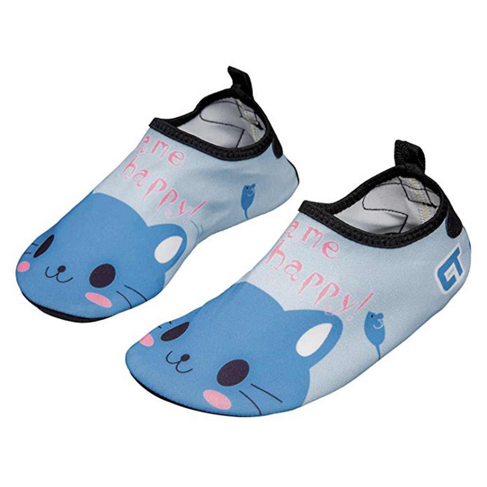 7a904d3eba JACKSHIBO verano Kid agua sandalias descalzo peso ligero niños secado  rápido zapatos para niños calzado de