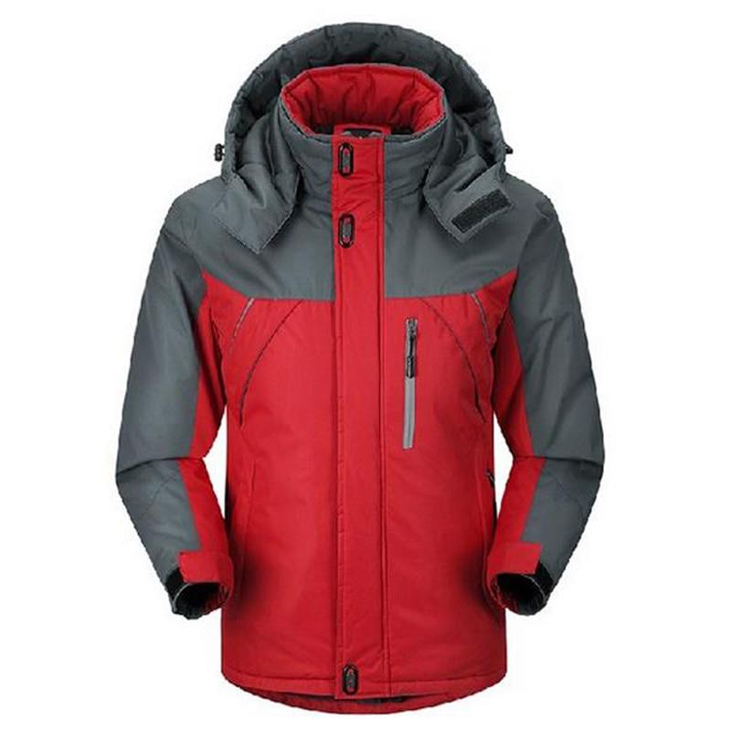 2018 Men Women Winter Inner Fleece Waterproof Jackets Outdoor Sports Brand Coats Hiking Trekking Skiing Male Female Jacket VA047
