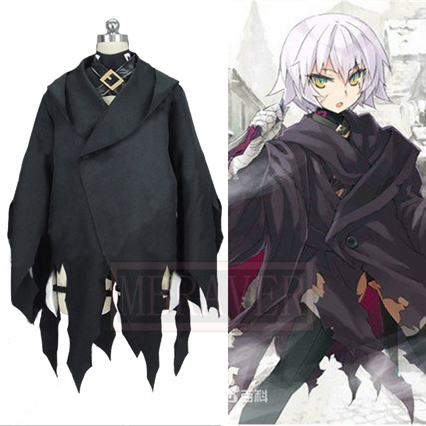 Fate Apocrypha Assassin Jack the Ripper Cosplay Costume Uniforms Tailor made Any Size
