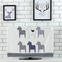 Desktop Computer Cover Household Merchandises TV Set Dust Cover Home Decoration Printing Dustproof Cloth