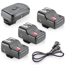 Neewer conjunto de disparo de Flash inalámbrico de 16 canales para unidades de Flash con zapata Universal para Canon/Nikon/Pentax/Sigma/Vivitar