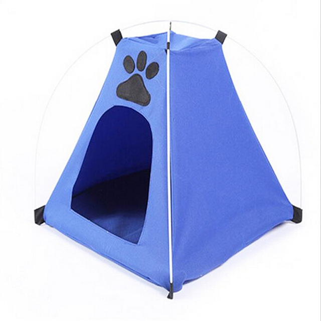 Pet Nest Foldable Oxford Cloth Tents Portable Indooru0026Outdoor Pet Tent Durable fashion Dogu0026Cat Play Houses With  sc 1 st  AliExpress.com & Pet Nest Foldable Oxford Cloth Tents Portable Indooru0026Outdoor Pet ...