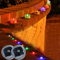 Waterproof outdoor traffic solar lights flashing lights LED Underground Electronic candle Courtyard lamp 4pieces/lot