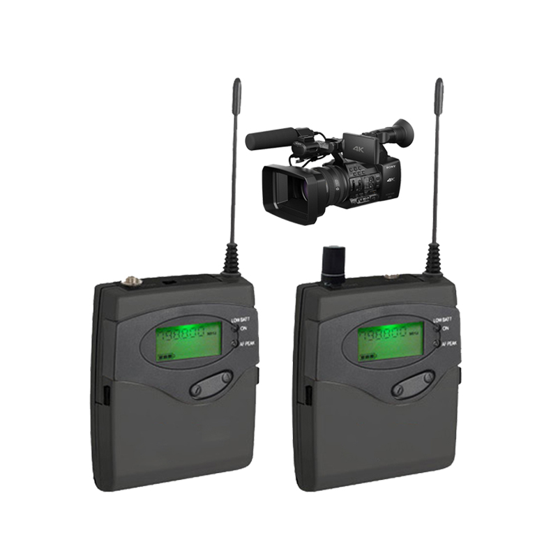 EAROBE MA-900 DSLR Camera Wireless for Outdoor Recording, Interview, Video Shooting, DV Portable Wireless Microphone