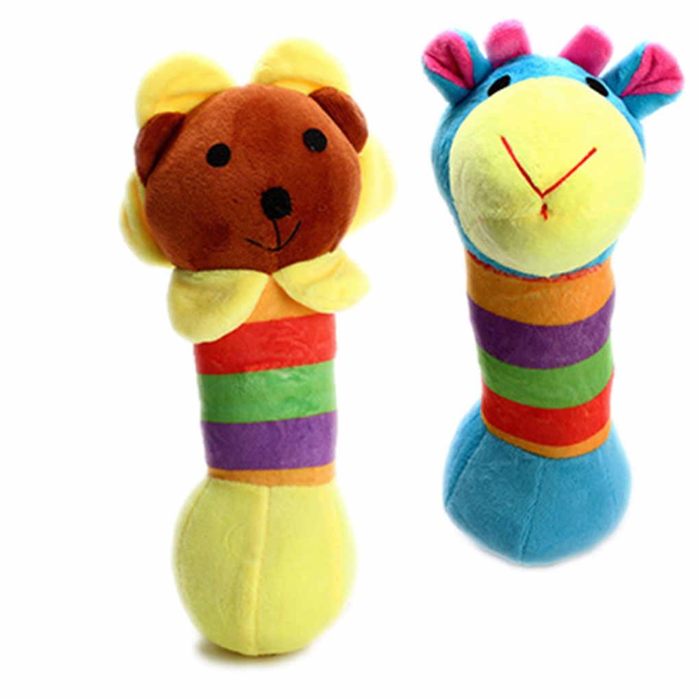 1 шт. плюшевые жираф, Лев панда пищащая игрушка для питомца жевательные игрушки Pet звук играть кукла собака жевательные плюшевые PP Stick