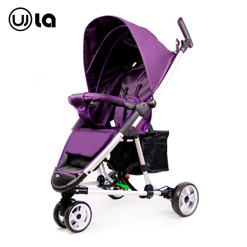 Baby strollers newborn Super light can sit and lying trolley folding baby children tricycle cart цена