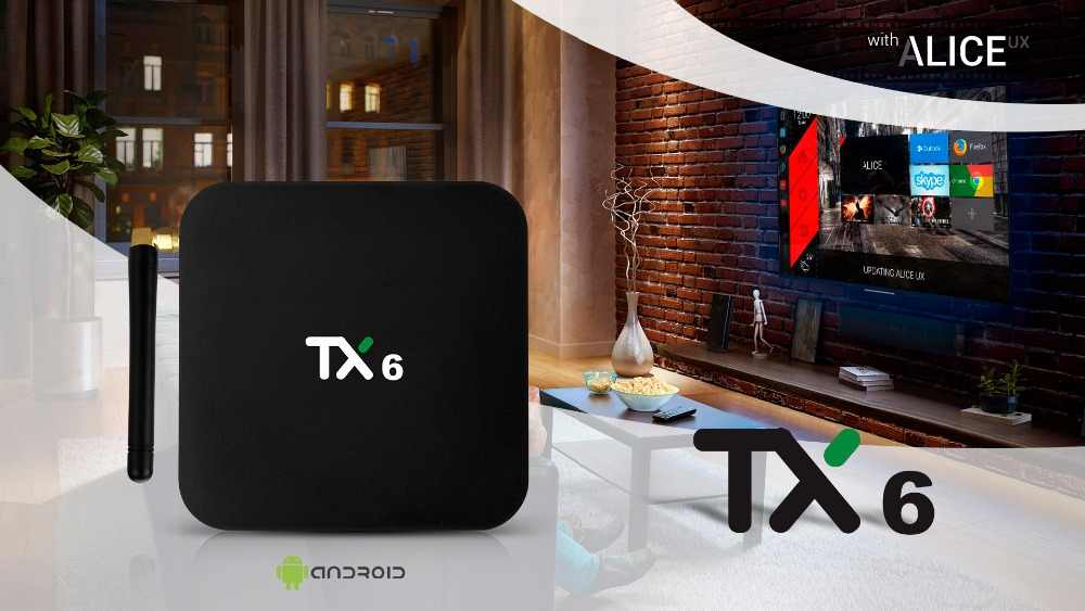 10 шт./партия dhl express free TX6 Android 7,0 tv BOX 4G 32G Allwinner H6 Quad core 2,4G + 5G Dual Wifi BT 4,1 телеприставка 4 K HD