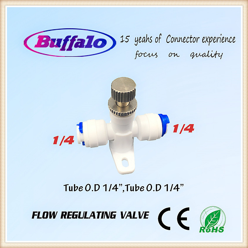 5PCS New 1/4 RO Water Flow Control Valve high quality Flow Regulating Valve for RO water Purifier