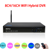 1080P 2mp Surveillance Camera Blue Ray Hi3521A 1080N 16CH 8CH 6 In 1 Wifi Hybrid Coaxial