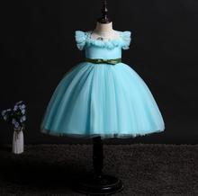 new baby girl summer clothes Sleeveless  Vest dress Stage performance Wedding presiding Birthday party baby dress princess