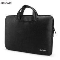 Laptop 13 Simple Dot Famous Brand Business Men Woman Briefcase Bag Luxury Leather Laptop Bag Man