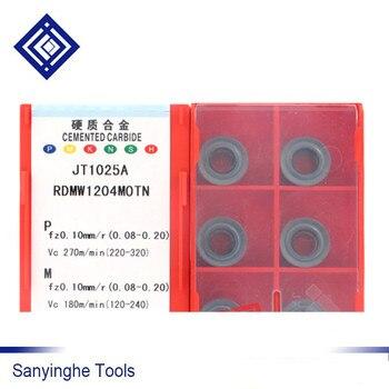 RDMW1204MOTN JT1025A inserciones de corte de fresado indexables para fresas cnc (10 unids/lote)