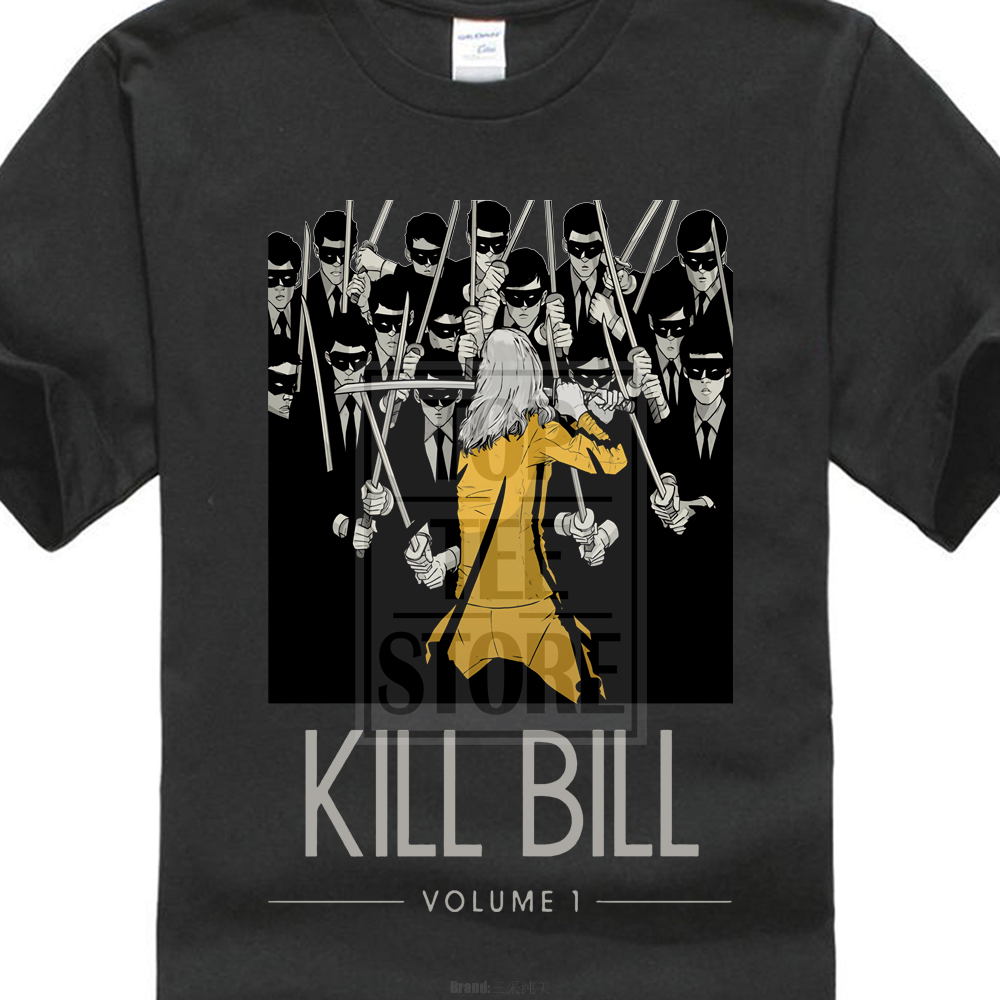 kill-bill-vol-1-by-quentin-font-b-tarantino-b-font-uma-thurman-as-black-mamba-movie-t-shirt