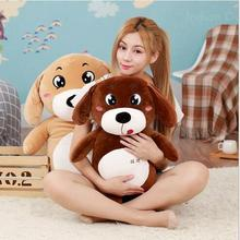 WYZHY Wangcai dog plush toy doll home decoration bed pillow to send parent-child gifts 40CM