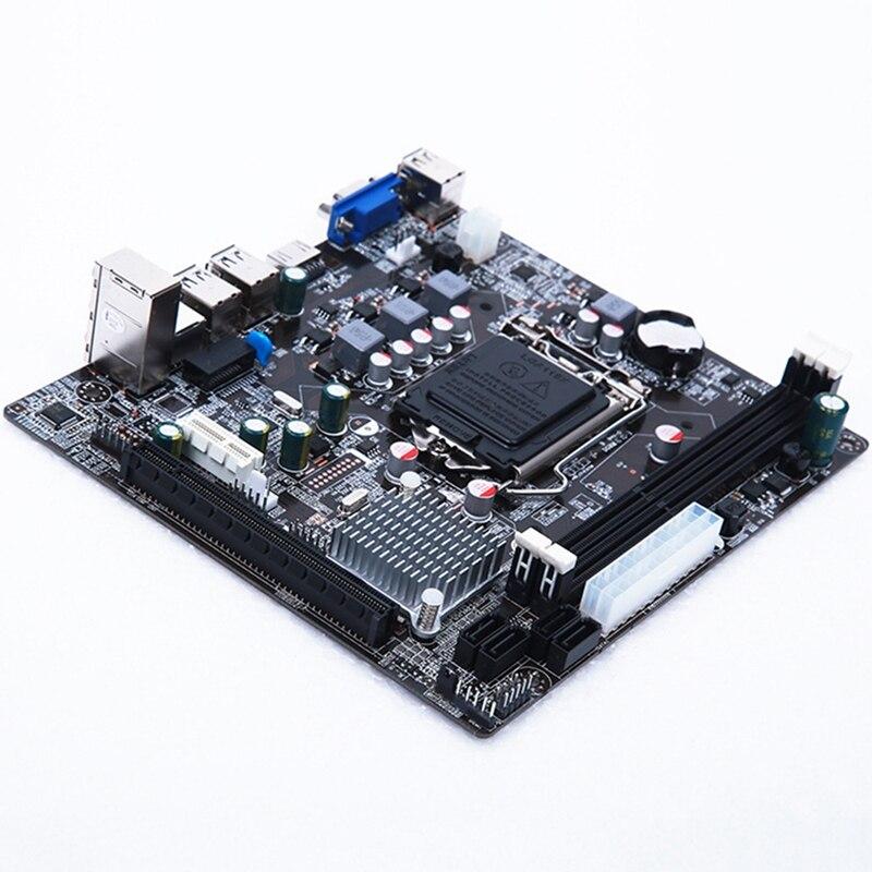 HOT-Lga 1155 carte mère pratique Stable pour Intel H61 Socket Ddr3 mémoire ordinateur accessoires carte de contrôle