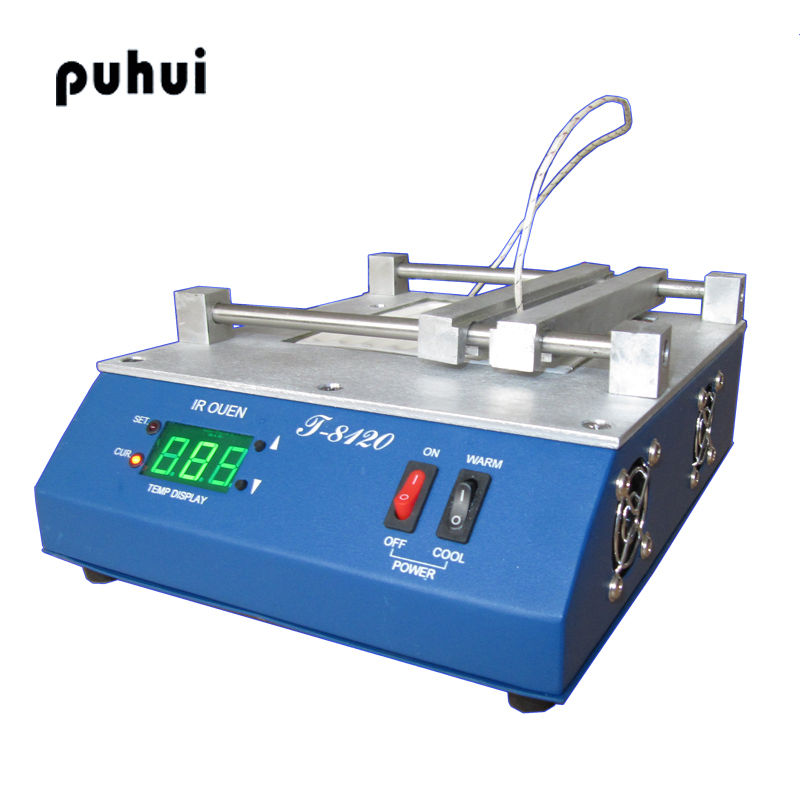 PUHUI T-8120 Infrared Preheating Station SMD PID Temperature Controlling Preheating Station heating Plamform цена