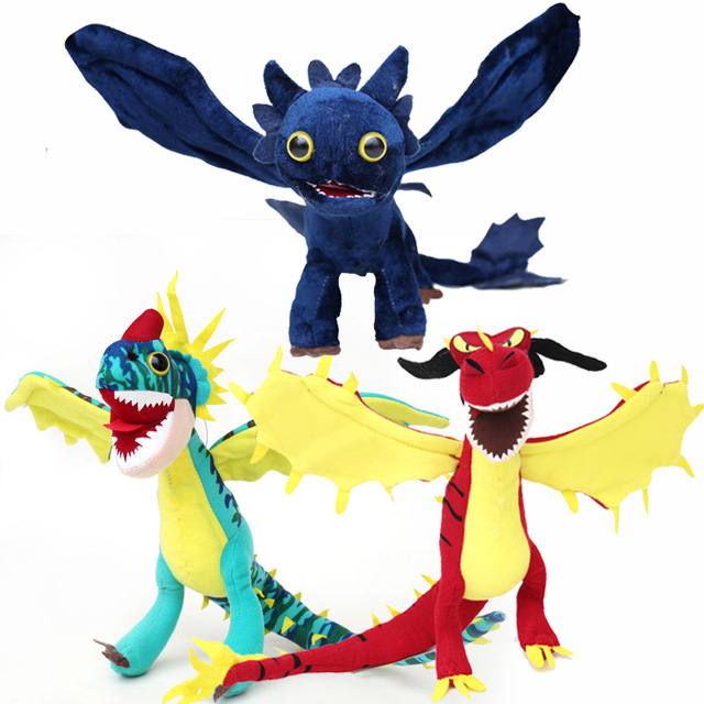 movie how to train your dragon 2 plush toys toothless night fury