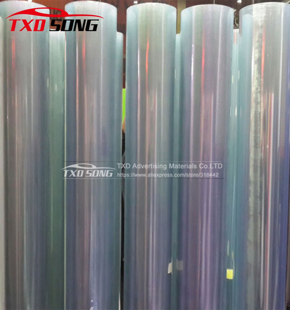 High quality Transparent Protection film with 3 Layers Car paint protective film With Size 1.52*30M/roll By free shipping