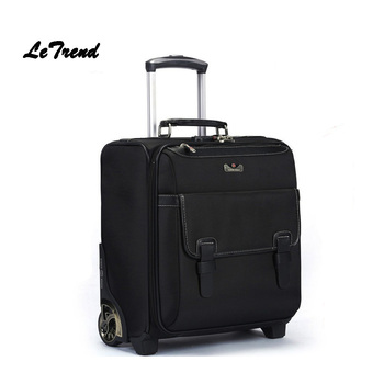 1859f8ac049 ... super popular ae532 70dbc See More Letrend Caster Business Rolling  Luggage Trolley Women 17 inch Carry ...