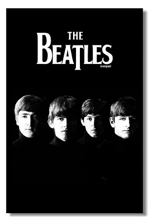 Hot sale fashion home decoration custom the beatles wallpaper fashion home decoration custom the beatles wallpaper stylish pp gule poster50x76cm voltagebd Choice Image