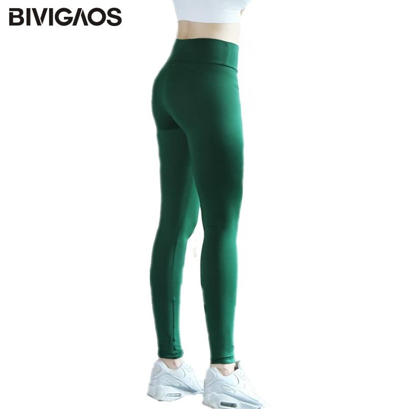2018 New Womens Multicolor Thin Spandex Leggings Dance Clothes Workout Leggings Pants Elastic Leggings Calzas leggins For Women