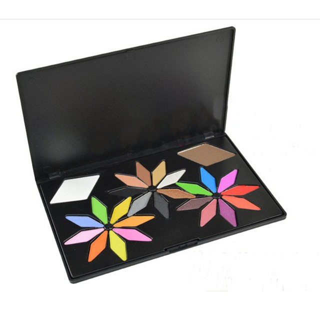 Pro 24 cores bonitas shimmer paleta de maquiagem sombra de olho colorido matte eyeshadow concealer collection mulheres facial kit cosméticos