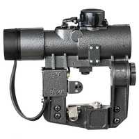 FIRE WOLF Red Dot Sight 1X30 SVD Hunting Rifle Scopes Rifle Tactical CQB Optical Scope fit Tiger SKS Style Side Mount