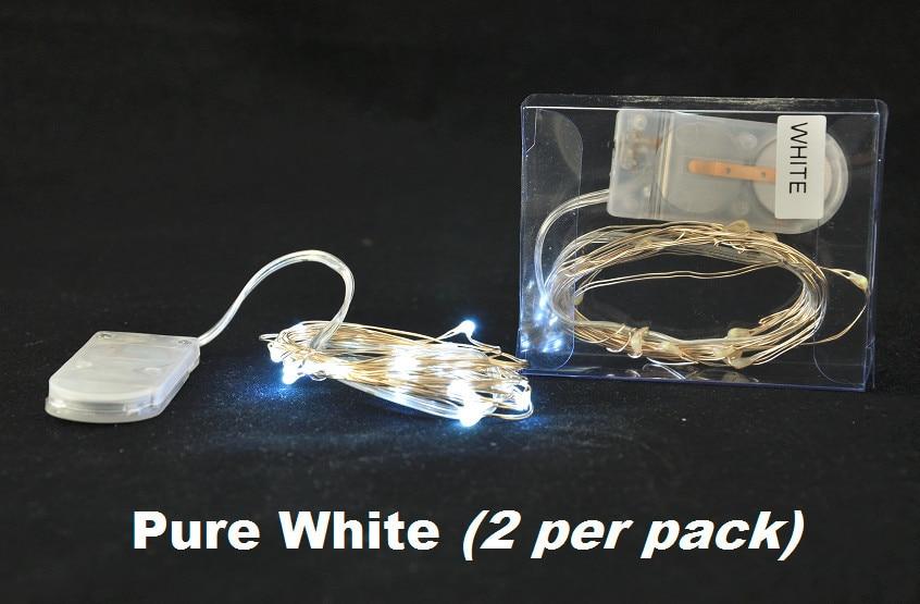 100pcs/lot 9colours White Warm White RGB Micro Mini LED Battery ...