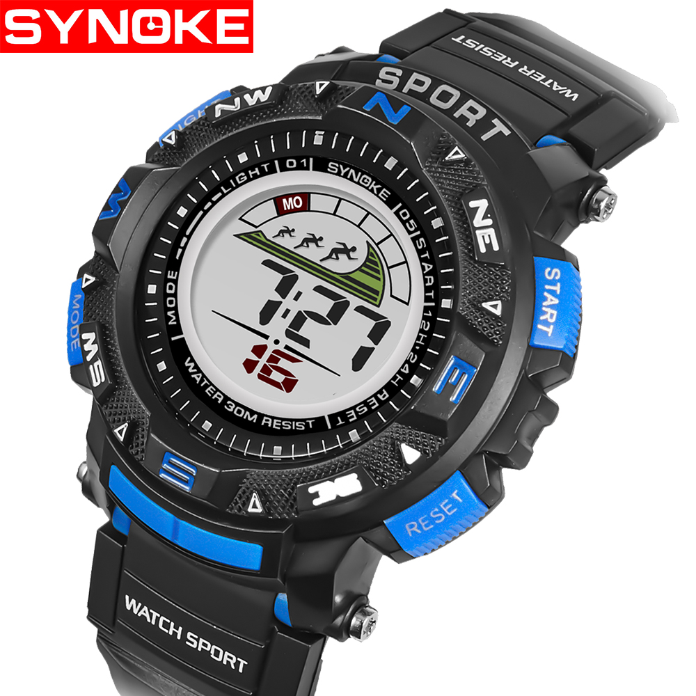 SYNOKE Kinderen LED Horloges Back Light Sport Kids Digital Horloges - Kinderhorloges - Foto 2