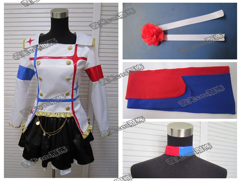 Gratuite The Costume Uniformes Filles Version Cosplay Idolm Ster Film 2014 Cendrillon Livraison q4OxP6Zq