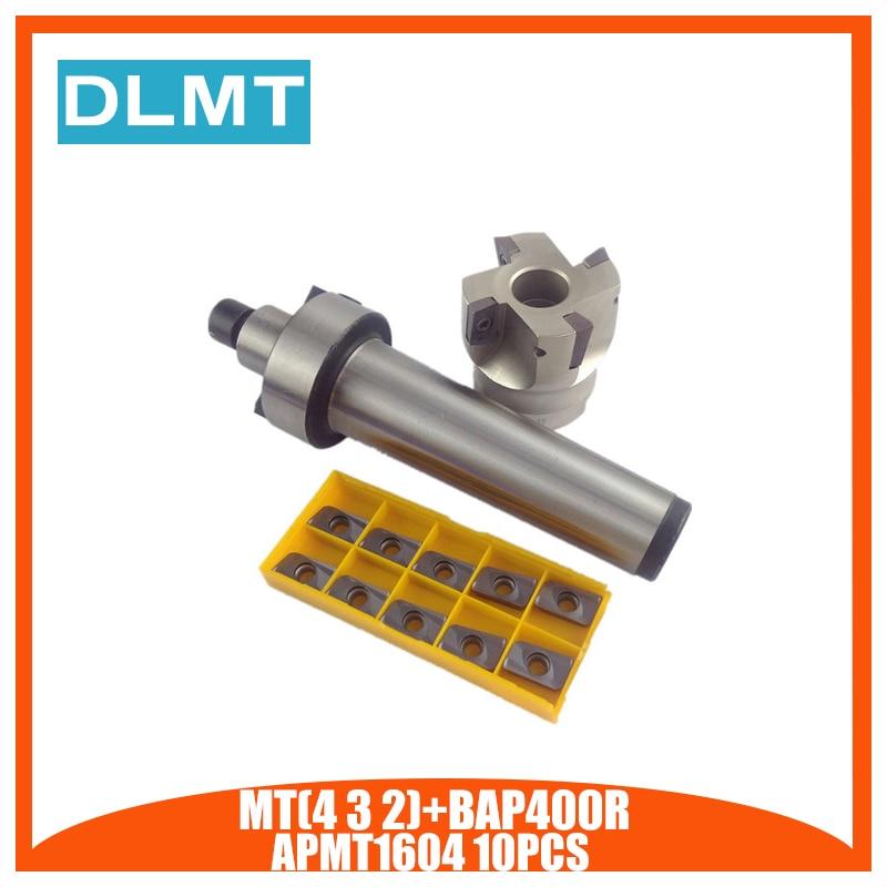 MT2 FMB22 /MT3 FMB22 M12/ MT4 FMB22 M16+ 400R 50 22 Face End Mill Cutter + 10pcs APMT1604 Carbide Inserts For CNC centerMT2 FMB22 /MT3 FMB22 M12/ MT4 FMB22 M16+ 400R 50 22 Face End Mill Cutter + 10pcs APMT1604 Carbide Inserts For CNC center